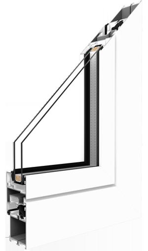 aluminium window mb 45 system