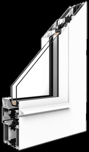 aluminum window advantage MB 70