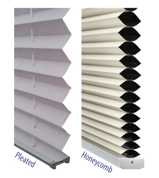 product blinds pleated honeycomb