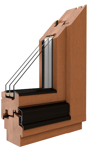timber window timber softline