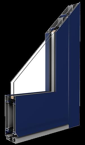 entry door aluminium external