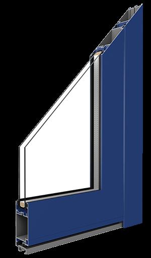 entry door aluminium internal