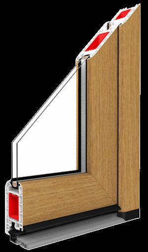 entry door standard upvc