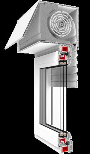 pvc roller shutter