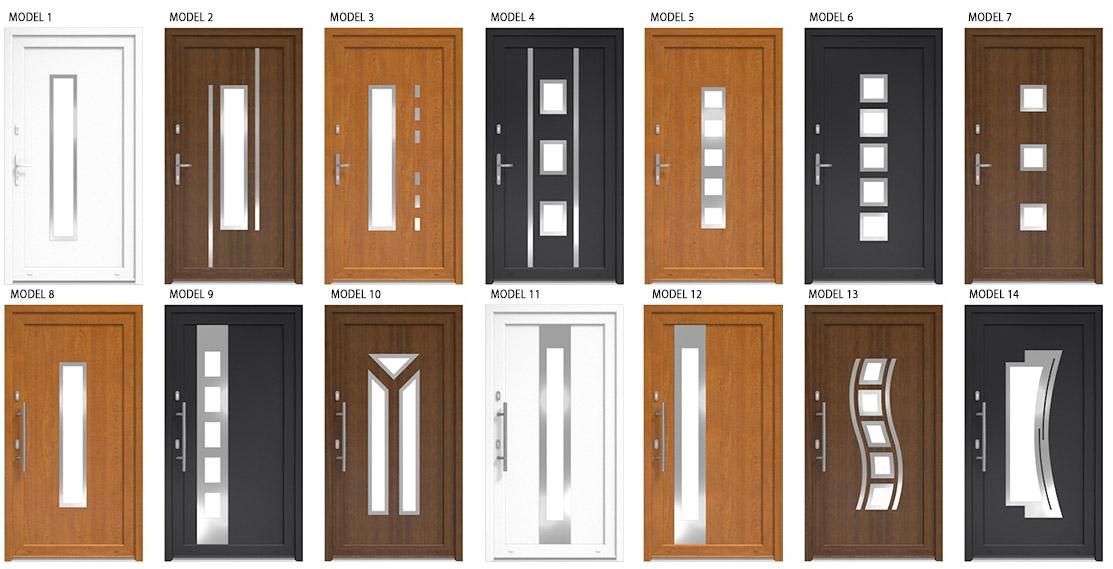 upvc door styles