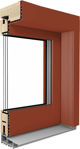 HS Timber Aluminium Frame