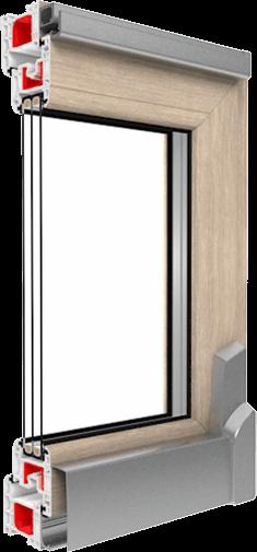 Slim uPVC Frame