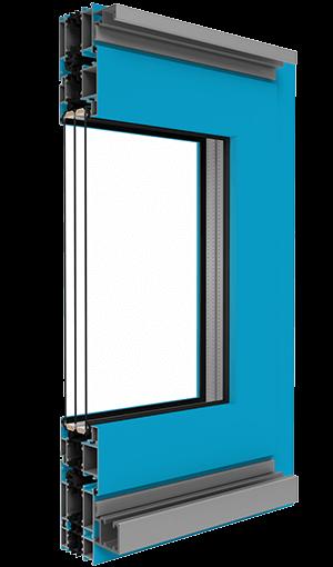 bi fold door aluminium frame