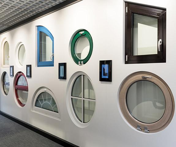 oknalux double glazed windows different shapes